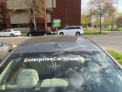 UofL CarShare at Miller Hall