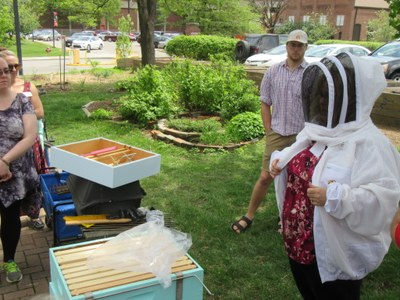 Pollinators Workshop at Garden Commons (Apr 2017)