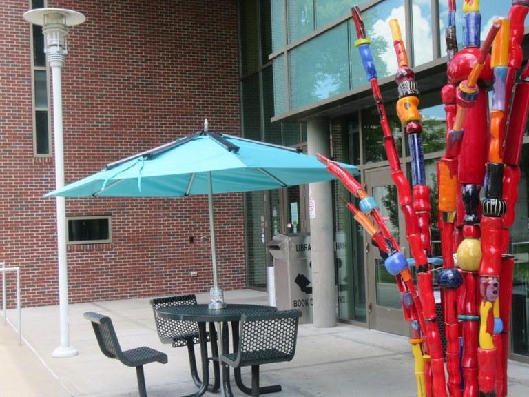 Solar Charging Umbrella