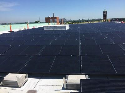 Belknap Academic Building's 321 solar panels (89 kW)