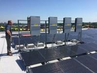 Belknap Academic Building's 389 kW solar system installation
