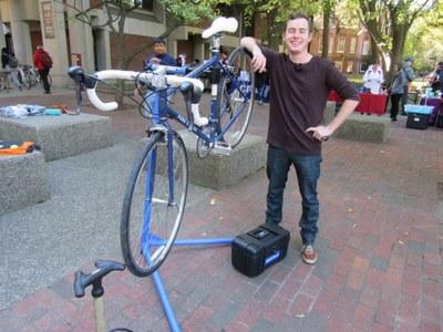 Palmer Stroup, Bike Mechanic Intern