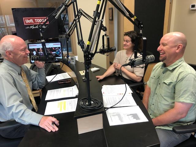 Razija Mehinovic + Justin Mog on UofL Today with Mark Hebert