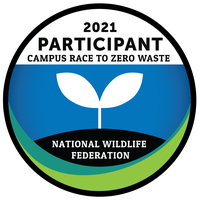 Participant Badge - 2021 Campus Race To Zero Waste