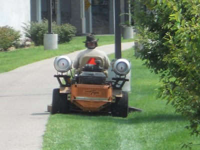 Propane Conversion of Mowers
