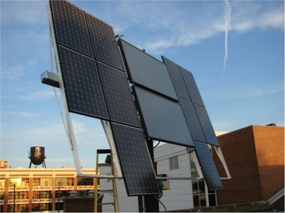 Sackett Hall Solar Array (PV+HotWater)