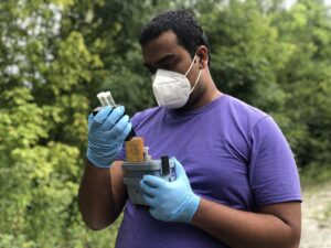 Sidharth Sundar 2020 water quality testing