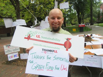 Thanks for Supporting the Green Fund for UofL