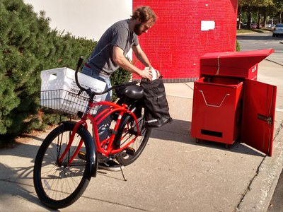 UofL Libraries Book Courier Bike (new July 2015)