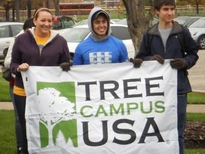 Tree Campus USA - 2011 Tree Planting