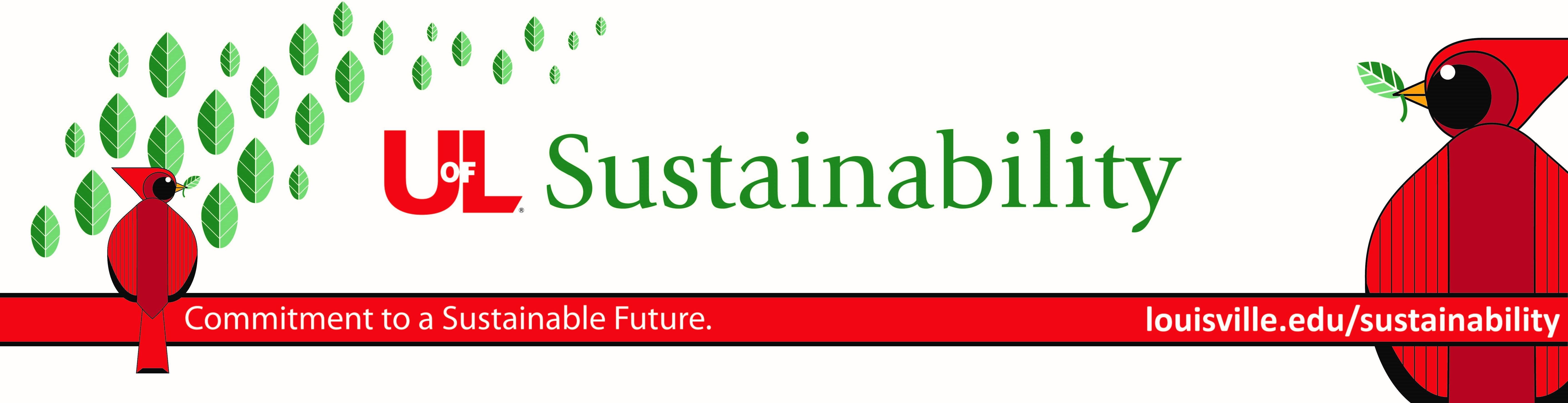 UofL Sustainability Banner