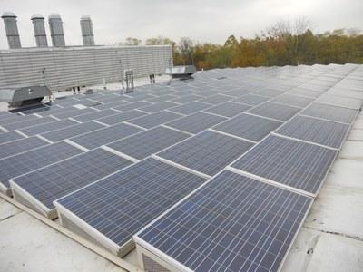 Center for Predictive Medicine (Shelby Campus) Solar Panels