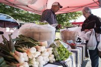 Gray Street Farmers Market selected for Double Dollars program