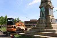 UofL Removes Confederate Monument