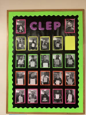 CLEP Wall of Fame