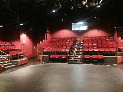 Thrust seating area