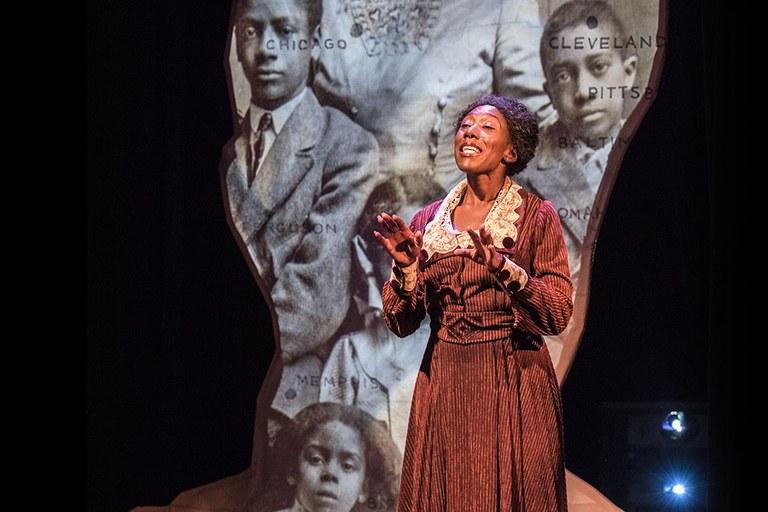 Actor Portayal of Ida 1 in Endesha Ida Mae Holland's Miss Ida B. Wells