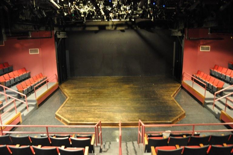 inside Thrust Theatre