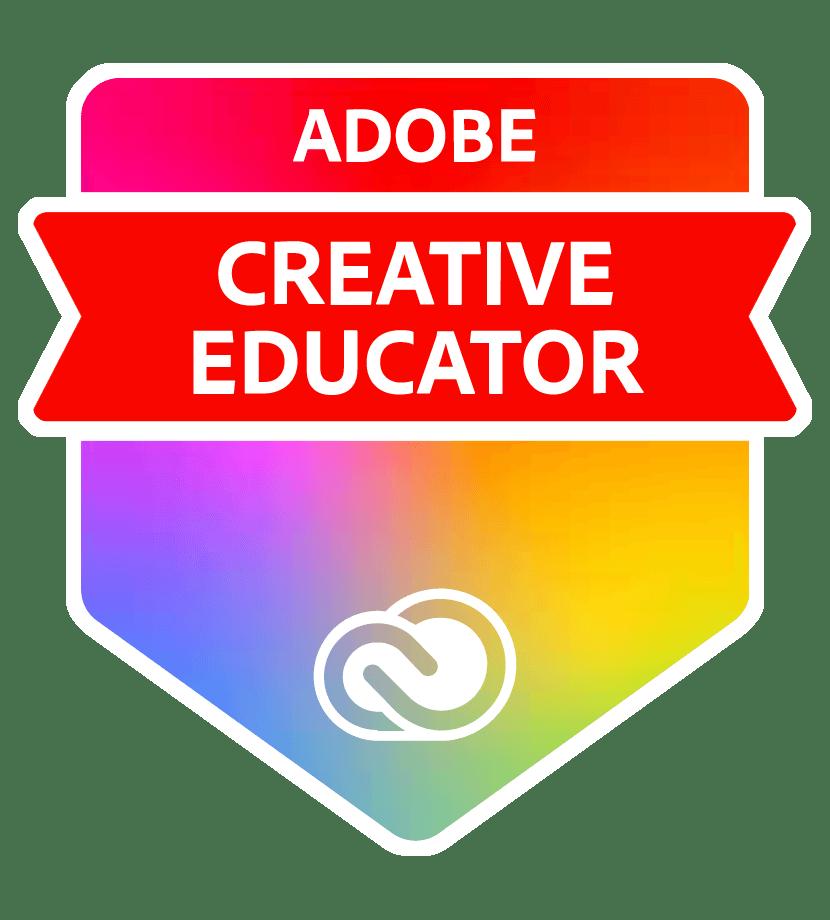 Adobe Creative Educator Badge