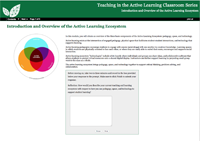 Softchalk module for Introduction and Overview of the Active Learning Ecosystem