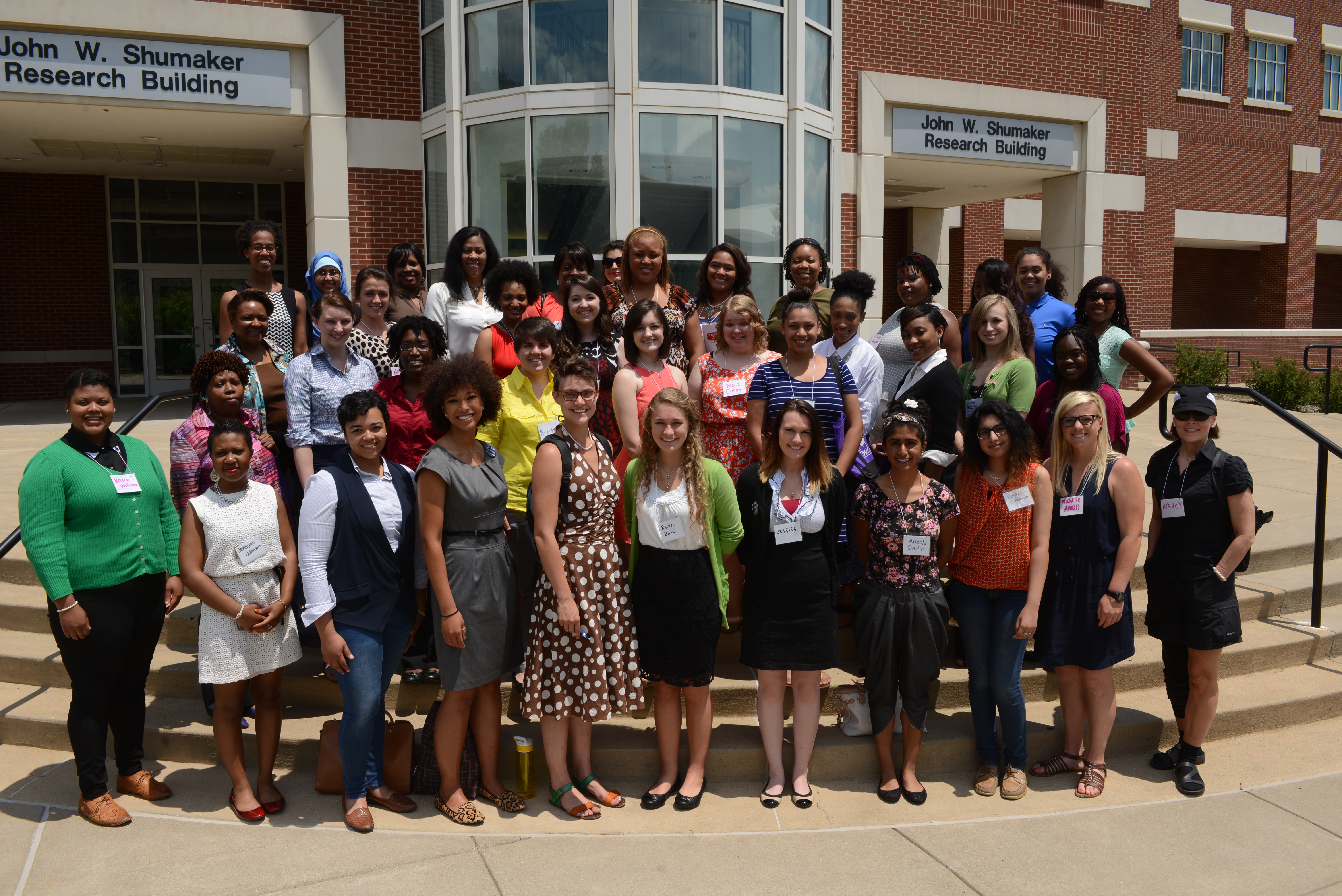College Women's Leadership Conference Attendees