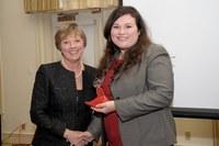 Tachau Award winner for 2012, Shelly Santry