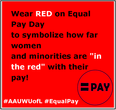 Equal Pay Day April 14