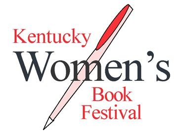 graphic of Womens Book Festival with ink pen