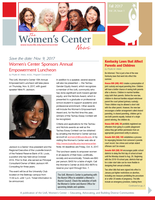 Women's Center Fall 2017 Newsletter