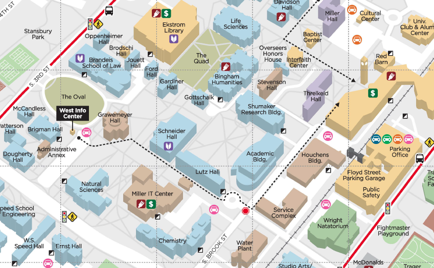 Uofl Campus Map Personal Products — Women's Center