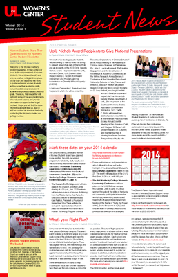 Current Student Newsletter